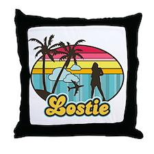Lostie Throw Pillow