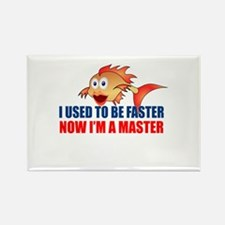 Used to be Faster Rectangle Magnet (10 pack)