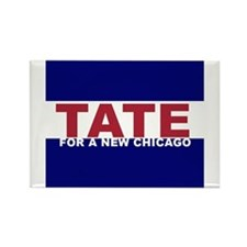 Tate For a New Chicago Rectangle Magnet