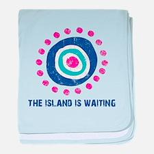 Island Is Waiting baby blanket