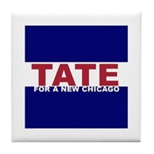 Tate For a New Chicago Tile Coaster