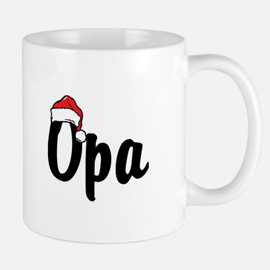 Opa Christmas Mug