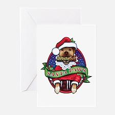 Santa Paws Greeting Cards (Pk of 20)