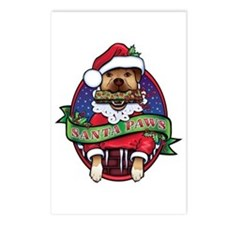 Santa Paws Postcards (Package of 8)