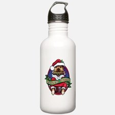 Santa Paws Water Bottle