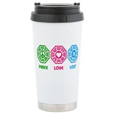 Peace Love LOST Travel Mug