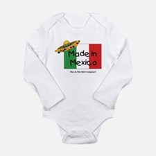 Made in Mexico Long Sleeve Infant Bodysuit