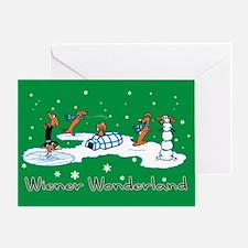 Wiener Wonderland 2010 Greeting Card