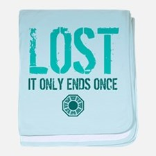 LOST Ends baby blanket