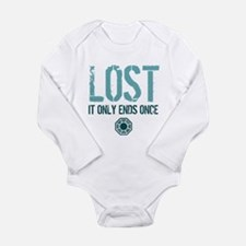 LOST Ends Long Sleeve Infant Bodysuit