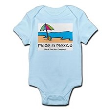 Made in Mexico - beach Infant Bodysuit