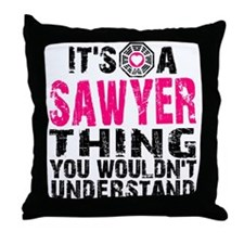 Sawyer Thing Throw Pillow