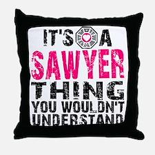 Sawyer Thing Throw Pillow