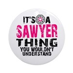 Sawyer Thing Ornament (Round)