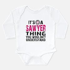 Sawyer Thing Long Sleeve Infant Bodysuit
