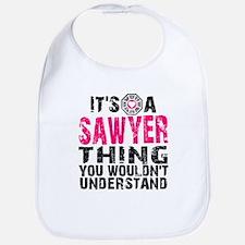Sawyer Thing Bib