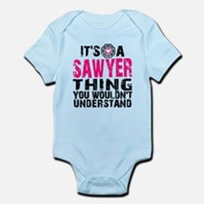 Sawyer Thing Onesie