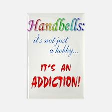Handbell Addiction Rectangle Magnet