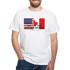 Half American-Half Canadian Shirt
