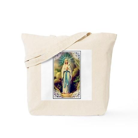 Virgin Mary - Lourdes Tote Bag