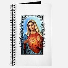 Virgin Mary - Sacred Immaculate Heart Journal