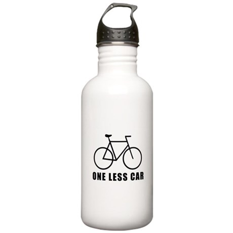 One less car Stainless Water Bottle 1.0L