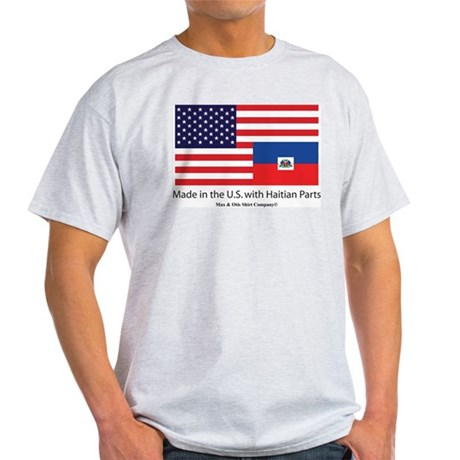 Made in America with Haitian Light T-Shirt