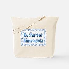 Rochester Minnesnowta Tote Bag