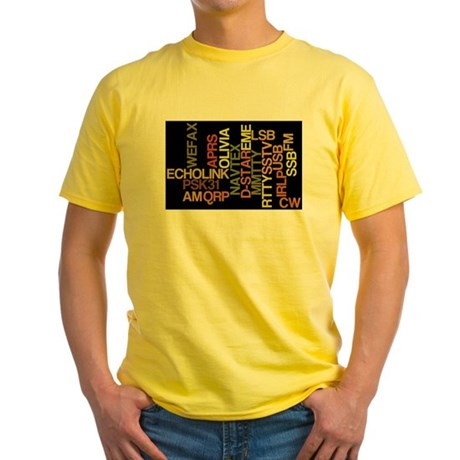 Ham Modes Yellow T-Shirt