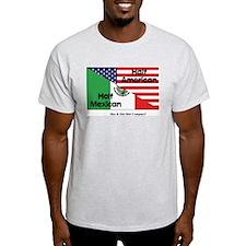 Half American-Half Mexican T-Shirt