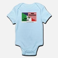 Half American-Half Mexican Infant Bodysuit