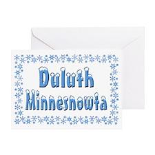 Duluth Minnesnowta Greeting Card