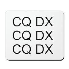 CQ DX Mousepad