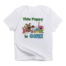 1st Puppy Birthday Infant T-Shirt