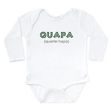 Quapa (quarter hapa) Baby Suit