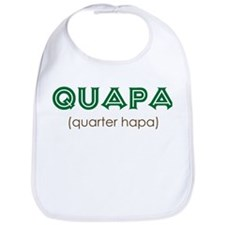 Quapa (quarter hapa) Bib