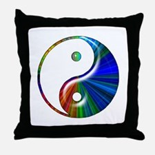 Yin Yang Throw Pillow