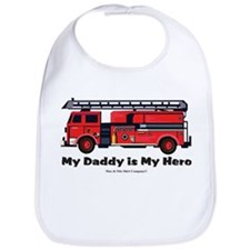 My daddy is my hero Bib