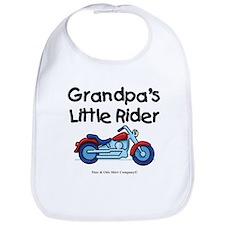 Grandpa's Little Rider Bib