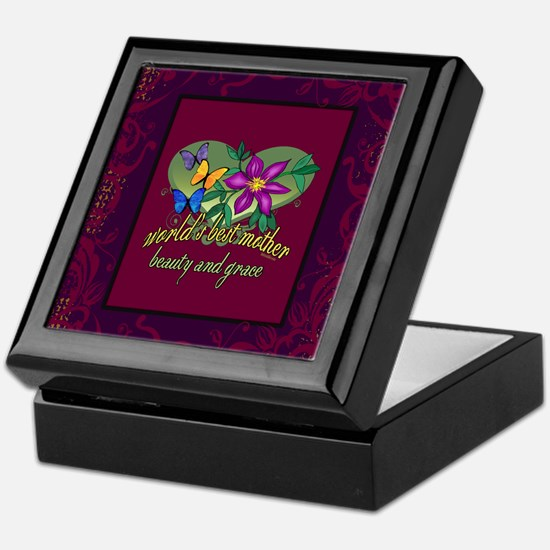 Mother Beauty and Grace Keepsake Box