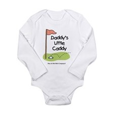 Daddy's Little Caddy Long Sleeve Infant Bodysuit