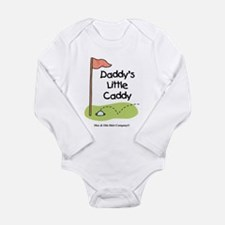 Daddy's Little Caddy Long Sleeve Infant Bodysuit