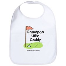 Grandpa's Little Caddy Bib