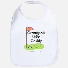 Grandpa's Little Caddy Bib