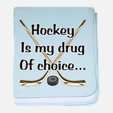 Drug Of Choice baby blanket