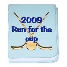 2009 Run For The Cup baby blanket