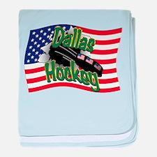 Dallas Hockey baby blanket