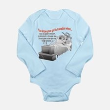 OMG He SCORES!! Long Sleeve Infant Bodysuit