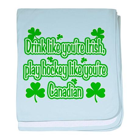 Drink Like You're Irish... baby blanket