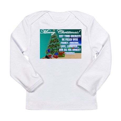 Hockey Christmas Cards & Gift Long Sleeve Infa